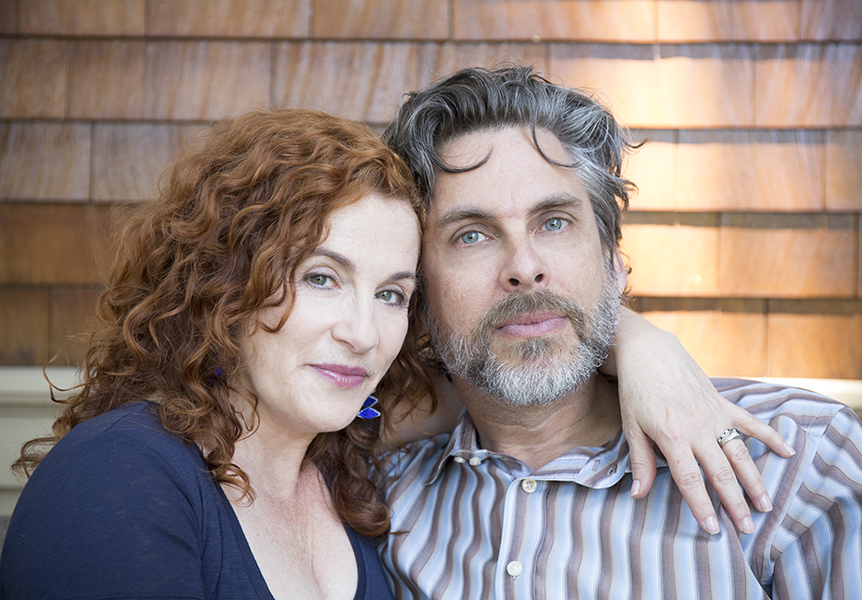 Michael Chabon and Ayelet Waldman, photographed at their home in Berkeley, CA
