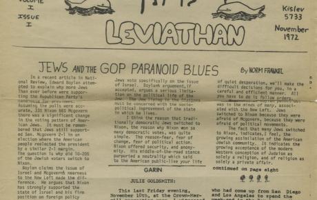 Vol 1 No 1 1972